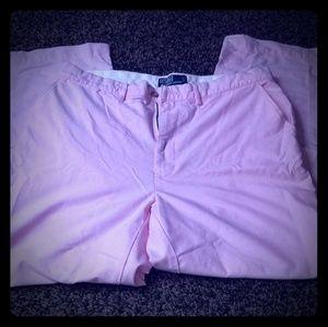 Pink khaki pants
